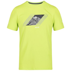 Regatta Fingal V Camiseta Hombre, electric lime
